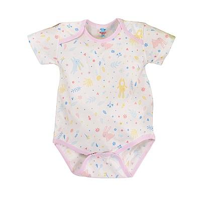 吸濕排汗嬰兒薄款短袖連身衣 g2404b 魔法Baby