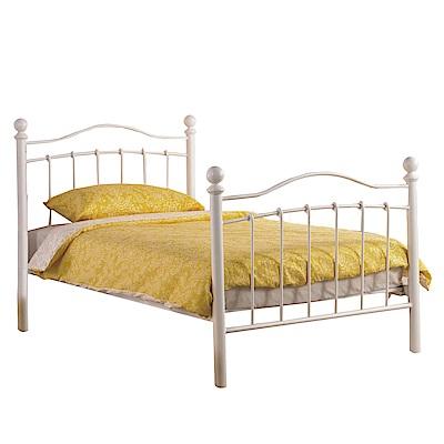 品家居 吉恩3.5尺鐵製單人床架(不含床墊+二色可選)-115x200x112cm免組
