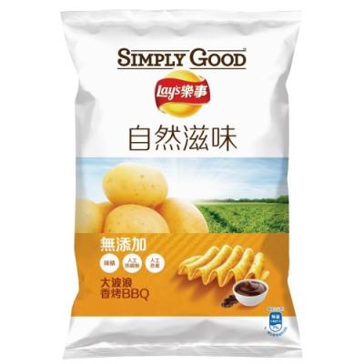 SIMPLY GOOD 樂事大波浪自然滋味BBQ味洋芋片(81g)