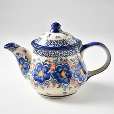 波蘭陶 春遊系列 茶壺 1.1L 波蘭手工製