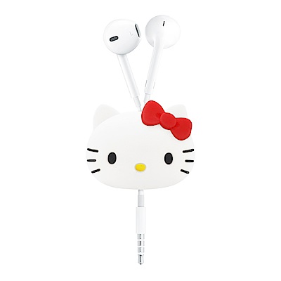 GARMMA Hello Kitty 立體公仔捲線器 蝴蝶紅