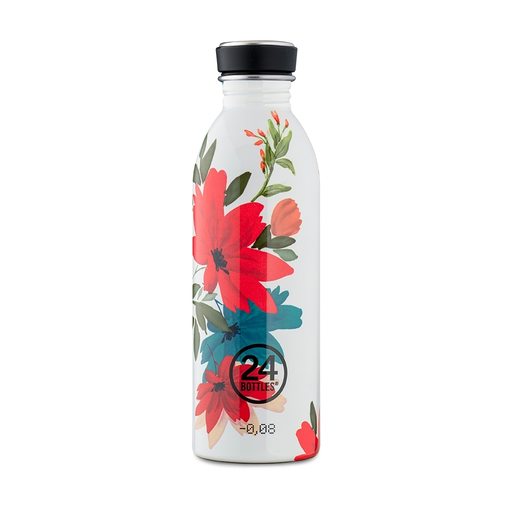 義大利 24Bottles 輕量冷水瓶 500 ml -Cara