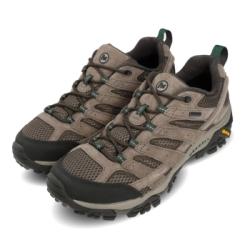 Merrell 戶外鞋 Moab 2 Leather GTX 男鞋 登山 越野 耐磨 黃金大底 防潑水 穩定 棕 綠 ML033329