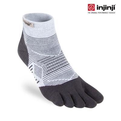 【INJINJI】RUN 輕量吸排五趾短襪[灰色] 五指襪 短襪 運動襪 五趾襪
