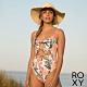 【ROXY】JUST SHINE FASHION ONE PIECE 一件式泳裝 白色 product thumbnail 1