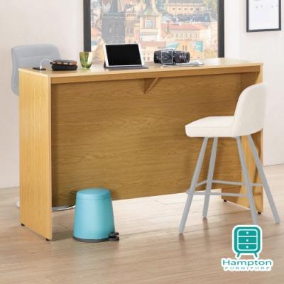 漢妮Hampton特魯羅系列5尺吧檯工作桌-145.5*51.5*99.5 cm