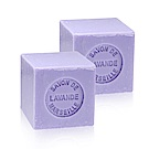 法國 戴奧飛波登 方塊馬賽皂-薰衣草香(100g-2入組)