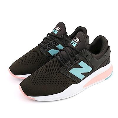 New-Balance 女休閒鞋 WS247FD-B 深咖啡