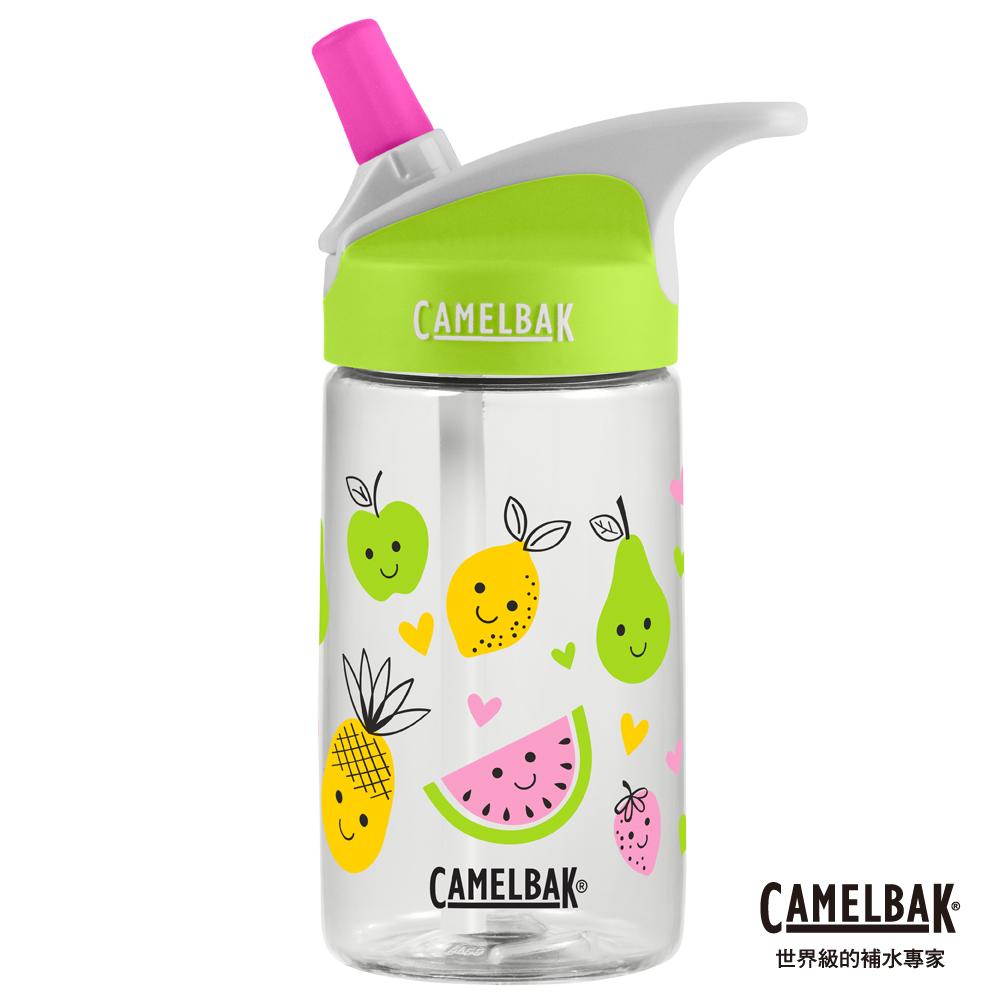 【美國 CamelBak】400ml eddy兒童吸管運動水瓶 甜心水果
