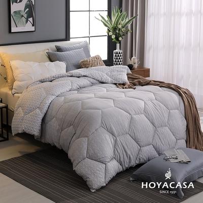HOYACASA 石墨烯續熱速暖機能冬被-雙人6x7尺