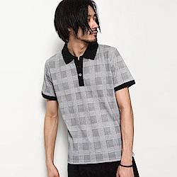 POLO衫鹿子織短袖襯衫(20色) ZIP日本男裝