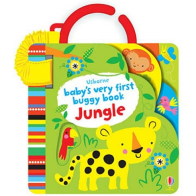 Baby s Very First Buggy Book Jungle 吊掛書:叢林動物