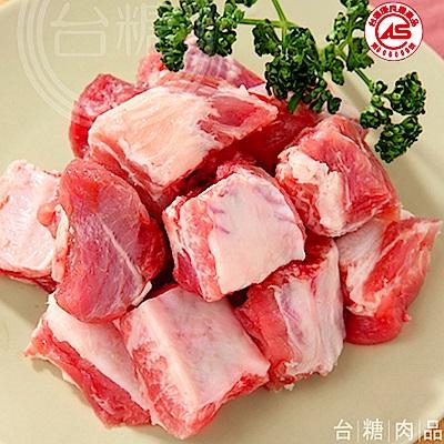 台糖 豬小排肉 4 盒組( 600 g/盒)