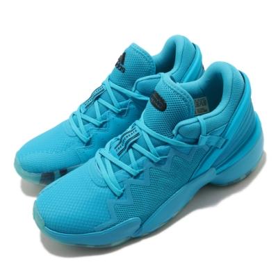 adidas 籃球鞋 DON Issue 2 GCA 男鞋 愛迪達 緩震 反光 球鞋穿搭 米契爾 藍 黑 FW9047