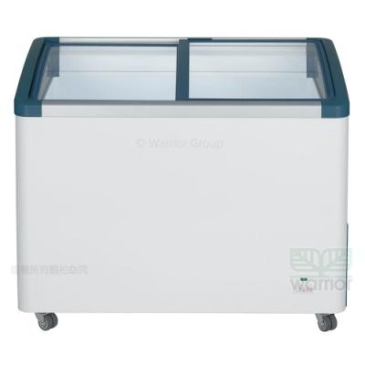 德國利勃LIEBHERR 3尺4 弧型玻璃推拉冷凍櫃270L(EFI-2753)附LED燈