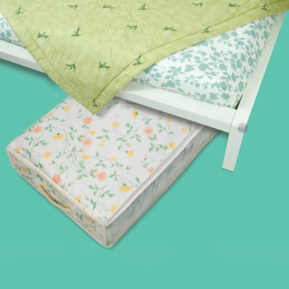【百特兔】扁平式床底下收納袋L 80x40x15cm
