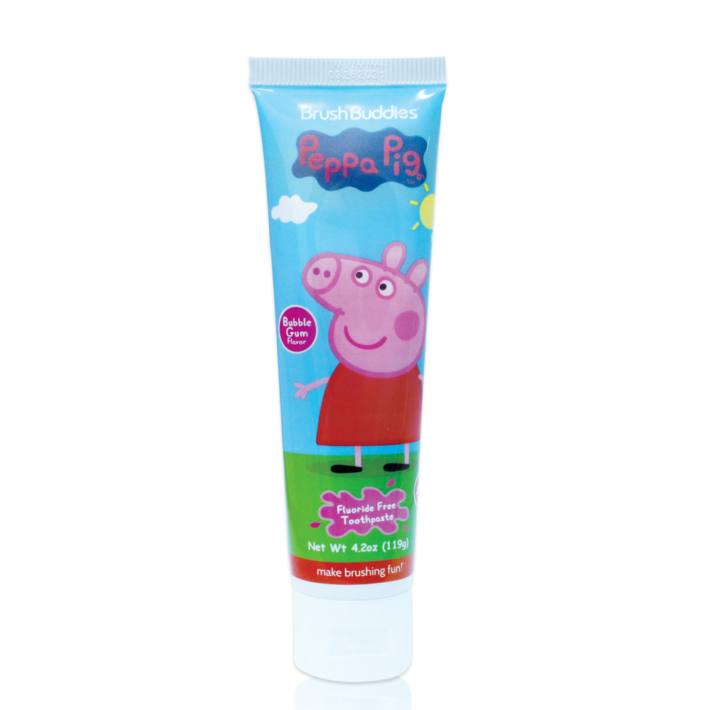 美國熱銷卡通 Peppa Pig 兒童牙膏119g