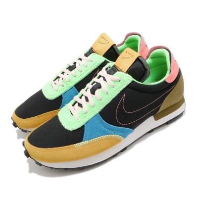 Nike 休閒鞋 DBreak Type 運動 男鞋 麂皮 簡約 色塊拼接 舒適 穿搭 黑 彩 DC3274064