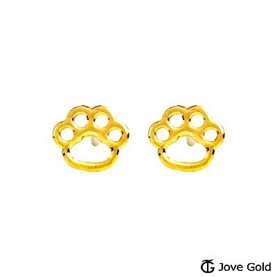 Jove gold 毛寶貝黃金耳環
