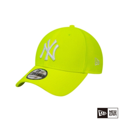 NEW ERA 940 LEAGUE ESSENTIAL 洋基 螢光黃 棒球帽