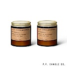 美國 P.F. Candles CO. No.32 檀香玫瑰二入組 香氛蠟燭 99g*2