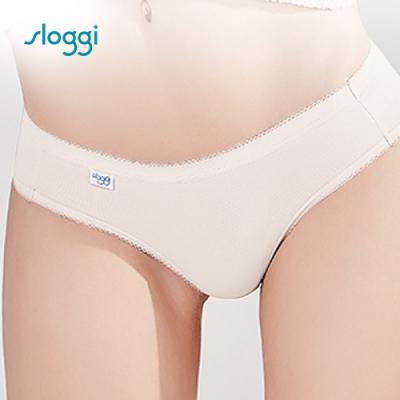 sloggi Comfort系列中腰小褲 白色系 C76-802 GT