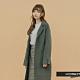 H:CONNECT 韓國品牌 女裝-氣質綁帶羊毛外套 - 灰色 (快) product thumbnail 1