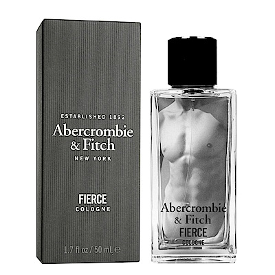 Abercrombie&Fitch FIERCE 肌肉男性古龍水 100ml