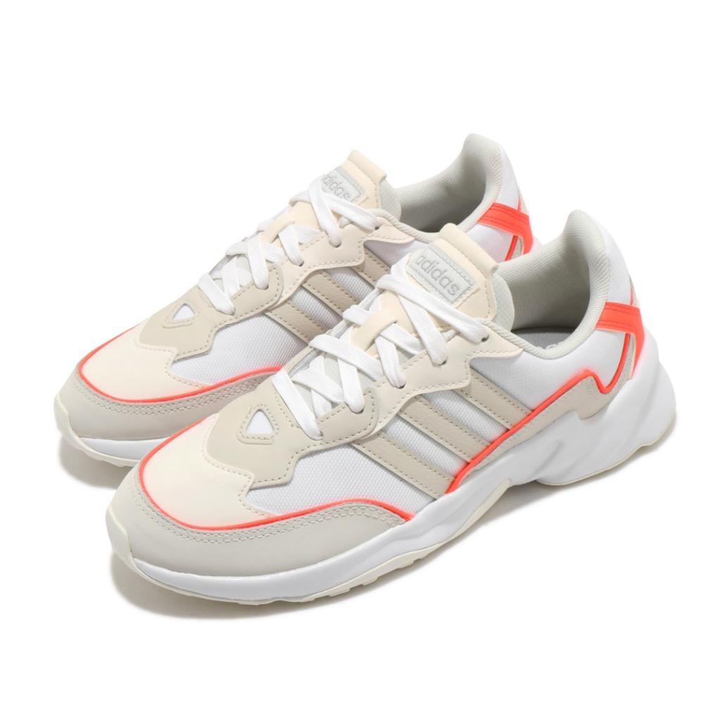 adidas 慢跑鞋 20 20 FX 運動休閒 女鞋 愛迪達 路跑 緩震 透氣 穿搭推薦 米 橘 EH2147