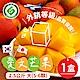 家購網嚴選 產銷履歷外銷等級 枋山愛文芒果 2.5kg/盒(大5-6顆) product thumbnail 1