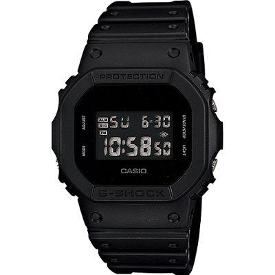G-SHOCK 極黑經典數位電子腕錶-黑(DW-5600BB-1D)/35mm