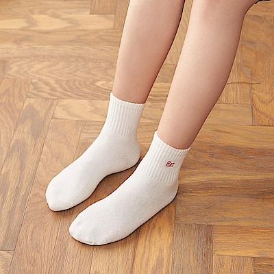 8:AT  運動短襪(牙白)