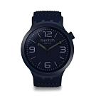 Swatch Big Bold 系列手錶 BBNAVY 午夜藍 -47mm