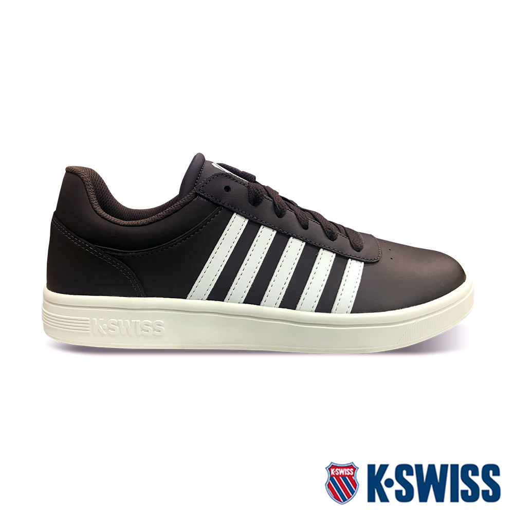 K-SWISS Court Cheswick時尚運動鞋-男-咖啡
