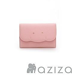 aziza 小象名片夾-粉