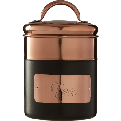 《Premier》Prescott茶葉密封罐(黑700ml)