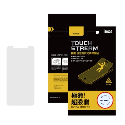 iMos Apple iPhone 11 Touch Stream 螢幕保護貼
