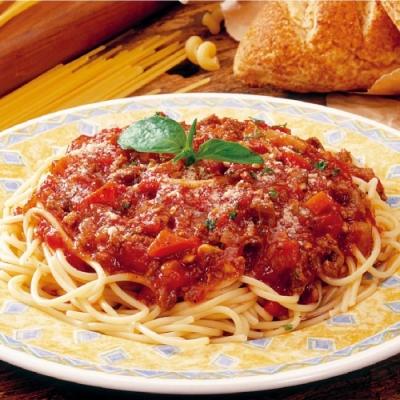 上野物產-義大利肉醬麵 x12包(麵體+醬料包 310g土10%/包)