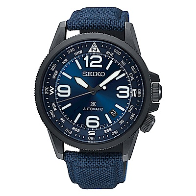 SEIKO精工/ PROSPEX 軍事風格時尚機械錶-4R35-02N0B(SRPC31J1
