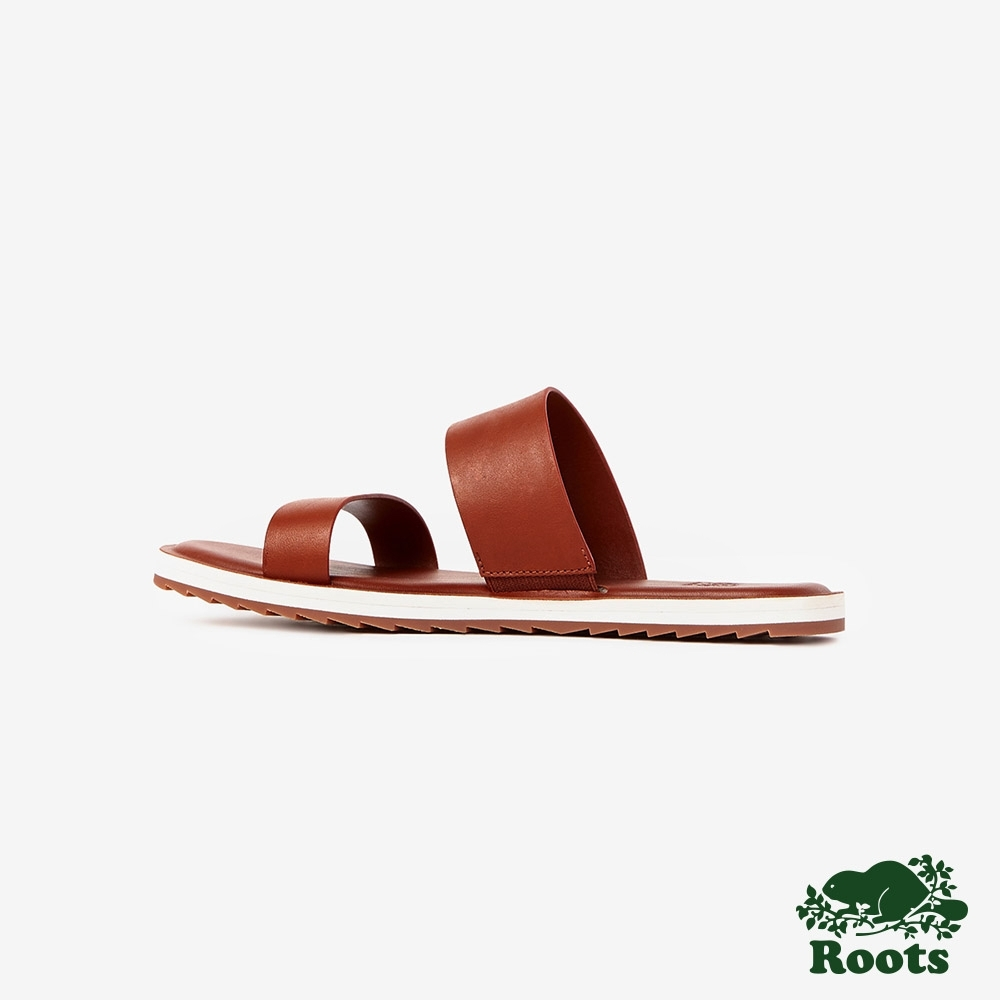 Roots女鞋- 金斯頓涼鞋-棕色