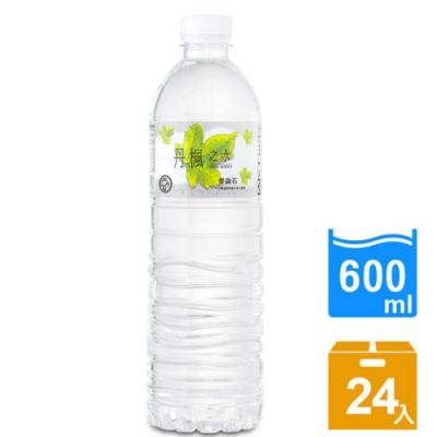 DRINK WATER丹楓之水 麥飯石礦泉水600ml(24瓶/箱)