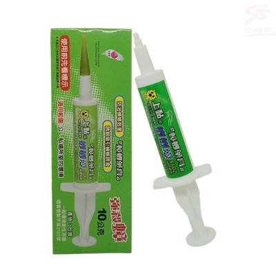 金德恩 台灣製造 1盒輕鬆點強哥絕凝膠餌劑10g/支/贈加強型錐行頭塞