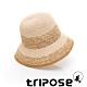 tripose AGNES 100%手工Raffia時尚遮陽草帽-帽簷8cm(黃棕色) product thumbnail 1