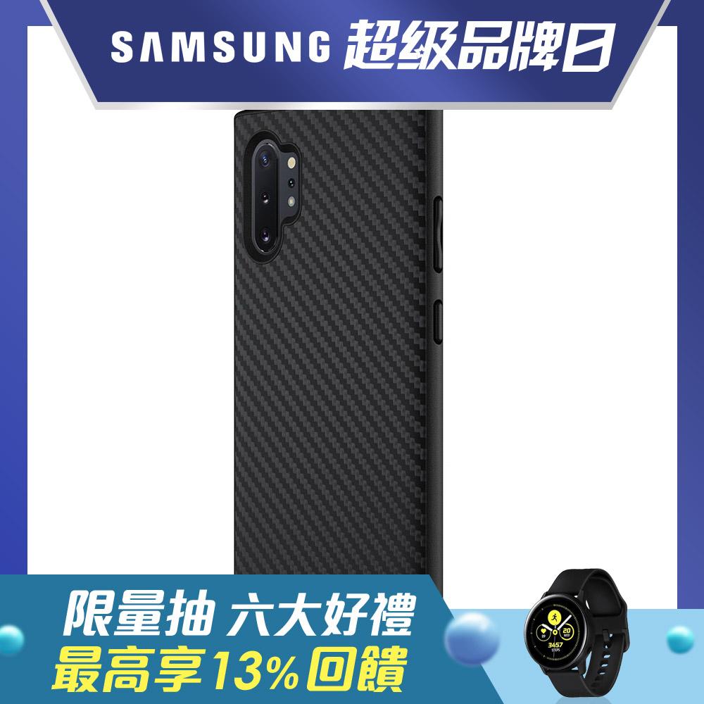 犀牛盾Samsung Galaxy Note10+ SolidSuit碳纖維防摔背蓋手機殼