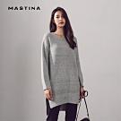 【MASTINA】 MIT台灣製造休閒長版-針織衫(二色)