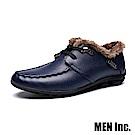 Men Inc.「車神」保暖禦寒駕車鞋 (藍色)