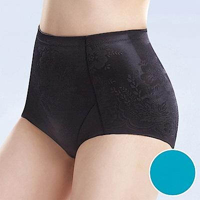華歌爾-BABY HIP 64-82 標準腰短管修飾褲(藍)微翹臀-無痕穿搭