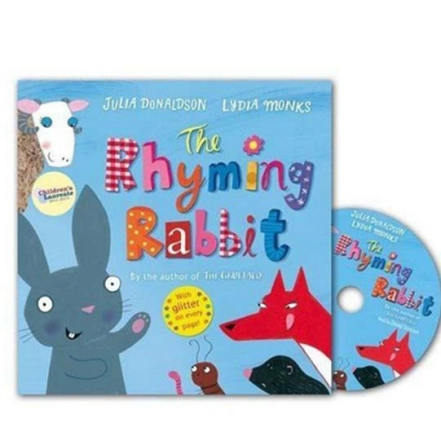 The Rhyming Rabbit (With CD) 詩人韻律兔故事CD書