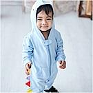 baby童衣 立體造型長袖拉鍊連身衣 82043