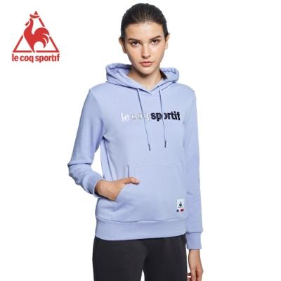 le coq sportif 法國公雞牌休閒連帽T恤 女-星辰紫